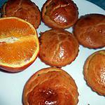 recette Petits moelleux a l'orange