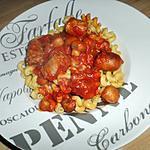Serpentini et sa sauce bolognaise toulousaine