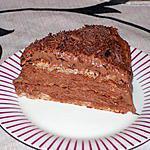 recette Gâteau mousse au chocolat et amande