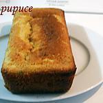 recette cake léger citron/pavot