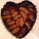 recette Bonsoir voilà Un gateau aux pommes et caramel pour tous les vrais gourmands comme moi mmmmmm.