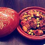 recette Voilà une spécialité de mon pays natal le Maroc Tajine de poulet au citron confit et aux olives