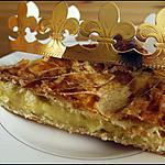 recette Galette des rois à la crème de frangipane.