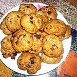 recette Cookies moelleux américains