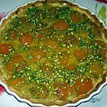 recette Tarte Amande/Pistache Aux Abricots