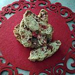 recette Croquants aux pralines roses