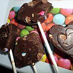 recette Sucettes au nutella et smarties