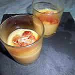 recette Crème a l'orange sanguine