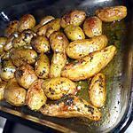 recette Pommes de terre rattes rôti à l'oriental