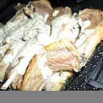 Cotes d'agneau grillés à la créme d'ail