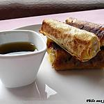 recette Bâtonnets croustillants au crabe & aux poireaux
