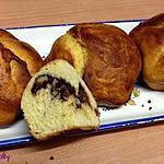 recette Brioche marbrée Nutella et noix