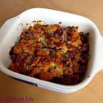 recette Gratin au potiron, châtaignes et bacon