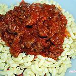 pâtes sauce à la chair à saucisse italienne