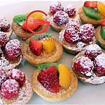 recette Minis tartelettes aux fruits
