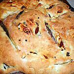recette Fougasse aux olives et tomates sechees