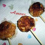recette Mini cordon bleu de babybel au jambon