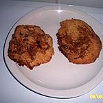 recette galette sablé gingembre et 4 épices avec une pointe de miel