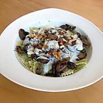 recette Ravioles du Dauphiné, champignons, sauce au parmesan et noix