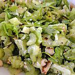 recette Salade de céleri aux amandes et au parmesan