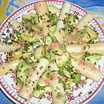 recette Salade avocat coeur de palmier
