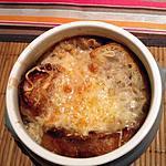 recette Soupe Gratinée aux oignons