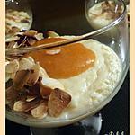 recette Semoule au lait d'amande