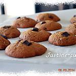 recette Cookies aux 3 chocolats