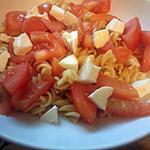 recette salade de pate tomate et mozza