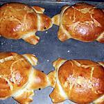 recette Quatre tortues façonnées par mon fils Nabil (10ans)