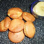 recette Petits moelleux a l'ananas de Jeanmerode que j'ai revisité