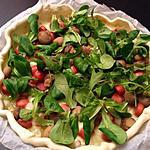 recette PIZZA AUX CHAMPIGNONS / MOZZARELLA & SAUCISSES KNACKI