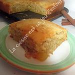 recette Gâteau pomme/cannelle sans oeuf