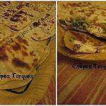 recette Crêpes Turques