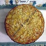 recette Gâteau pomme / avoine
