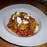 recette Quinoa aux légumes et fromage frais