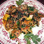 recette Foies de volaille a la libanaise