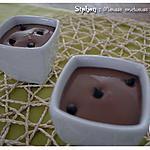 recette Siphon : crème mousseuse au chocolat noir