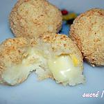 recette pommes noisettes coeur reblochon au four