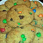 recette Cookies aux M&M's