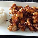 recette Bouchées croustillantes de poulet