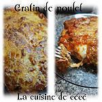 recette Gratin de poulet