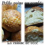 recette Petits pains au comté