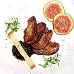 recette Foie gras poêlé et confiture de figues au vinaigre balsamique
