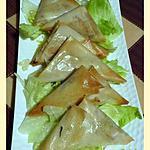 recette Petits croustillants au thon