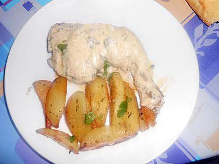 cuisse de poulet marsala creme 430