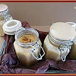 recette Crèmes à la confiture de lait