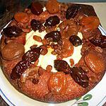 Savarin aux fruits confits