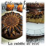 recette Gâteau à l'orange et pépites de chocolat