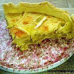 recette Tarte patates sautées & Brie